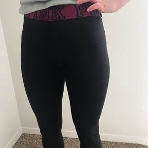 PINK Victoria's Secret Pants - PINK yoga pants / leggings